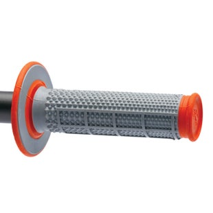 Renthal Renthal Dual Taper 50/50 Org MX Handlebar Grip - Orange