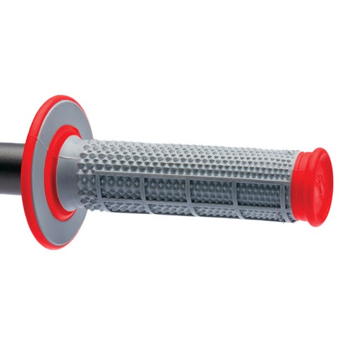 Renthal Renthal Dual Taper 50/50 Red MX Handlebar Grip - Red