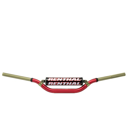 Motocross Handlebars Renthal Twin Wall R C Fat - Red