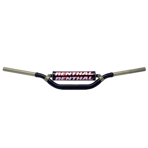Motocross Handlebars Renthal Twin Wall Stewart Fat - Black