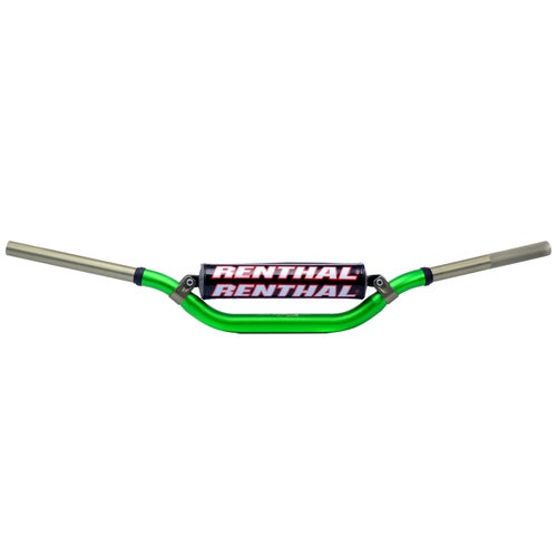 Motocross Handlebars Renthal Twin Wall Stewart Fat - Green