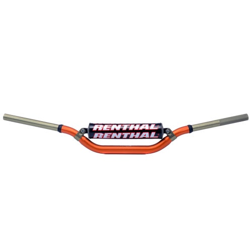 Renthal Twin Wall R C Fat Motocross Handlebars - Orange
