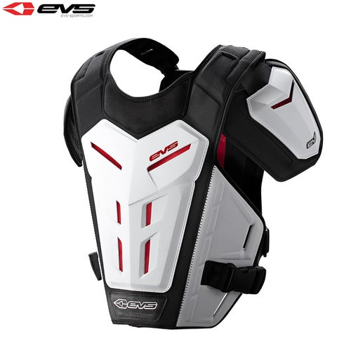 Protection pour Torse EVS Adult Revo 5 Under Armour - White