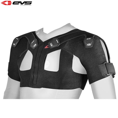 Shoulder Brace EVS Adult Sb05 Dual Shoulder Stabiliser - Black