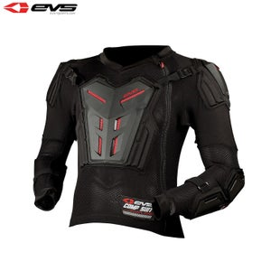 EVS Comp Motocross Protection Suit Youth Torso Protection - Black