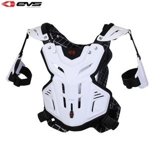EVS F2 Chest Protector Youth Chest Protection - White