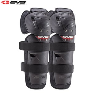 EVS Option Knee Guards Adult Knee Protection - Black