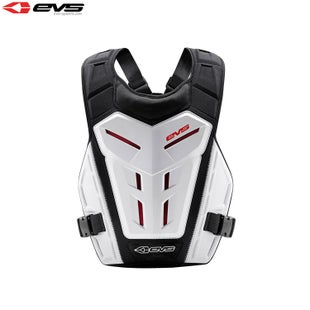 EVS Youth Revo 4 Under Armour Torso Protection - White