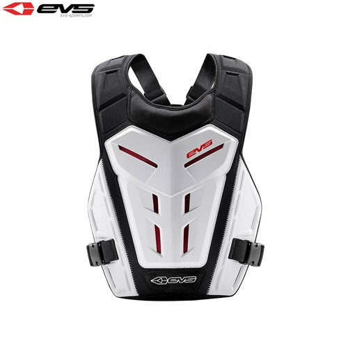 Protección para el torso EVS Youth Revo 4 Under Armour - White