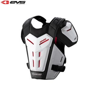 EVS Youth Revo 5 Under Armour Torso Protection - White