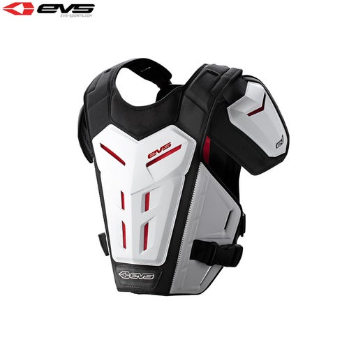 Protection pour Torse EVS Youth Revo 5 Under Armour - White