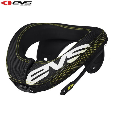 Neck Protection EVS R3 Neck Protection Inc Armour Straps Youth - Black