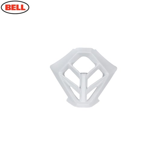 Bell Bell Replacement Moto 9 Mouth Piece Mouth Piece - White