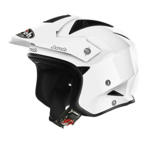 Airoh Trr S Trials Helmet - White