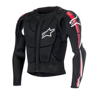 Alpinestars Bionic Plus Jacket Body Protection - Black Red White