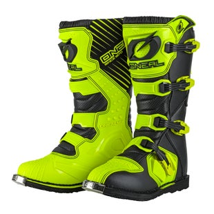 O Neal Rider Boot Motocross Boots - Neon Yellow