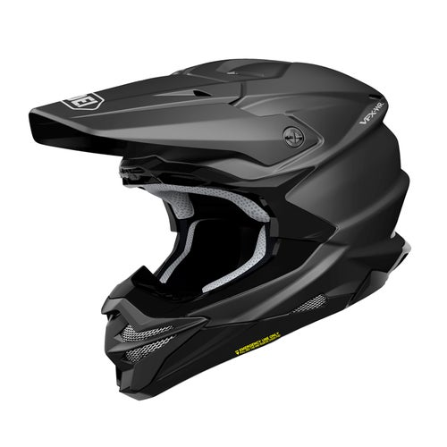 Shoei VFXWR Enduro and Motocross Helmet - Black Matt