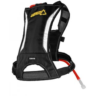 Leatt H1 Handsfree Harness05L Hydration Backpack - Black White Yellow
