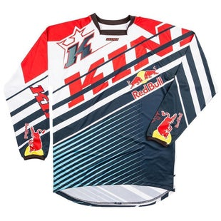 Kini Red Bull Vintage MX Motocross Jerseys - Blue