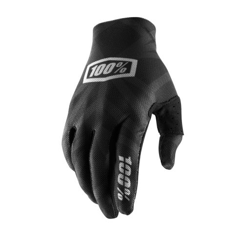 100 Percent Celium 2 Motocross Gloves - Black/silver