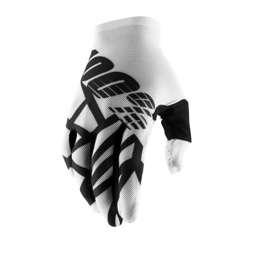 100 Percent Celium 2 Motocross Gloves - White/black