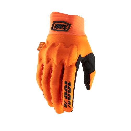 100 Percent Cognito Motocross Gloves - Fluo Orange/black