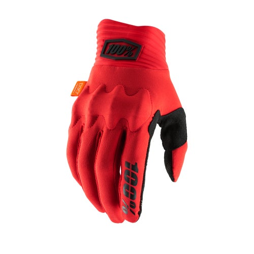 100 Percent Cognito Motocross Gloves - Red/black