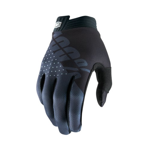 100 Percent Itrack YOUTH Youth Motocross Gloves - Black/charcoal