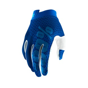 100 Percent Itrack Motocross Gloves - Blue/navy