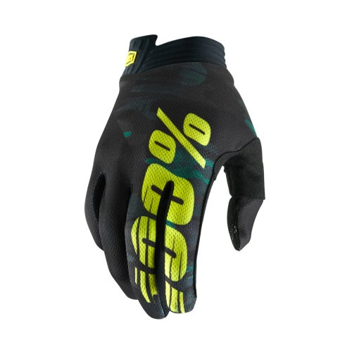 100 Percent Itrack YOUTH Youth Motocross Gloves - Camo