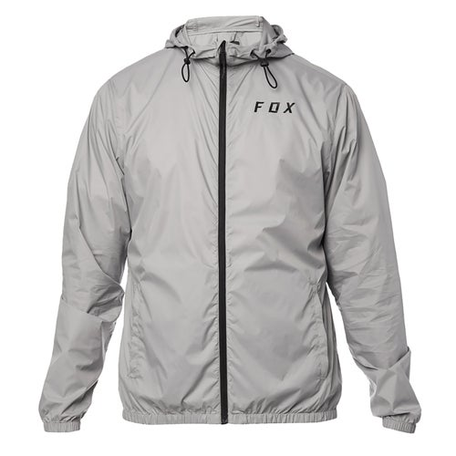 Fox Racing Attacker Windbreaker , Jakke - Stl Gry