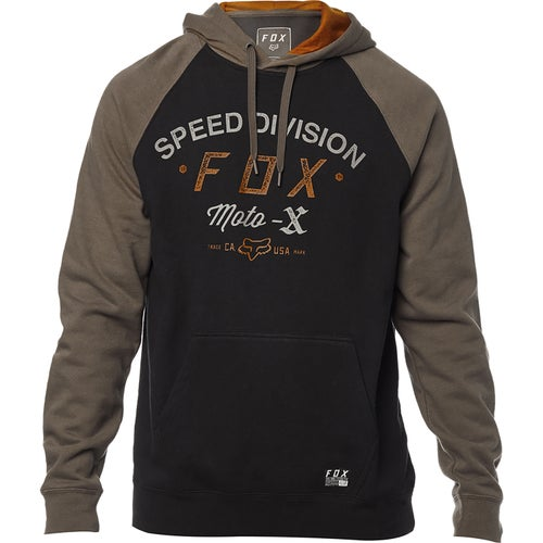 Fox Racing Archery Pullover Fleece Pullover Hoody - Blk