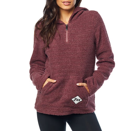 Fox Racing Road Raider Sherpa Dames Pullover Hoody - Rse
