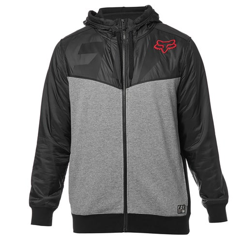 Fox Racing Axle Zip Fleece Zip Hoody - Blk