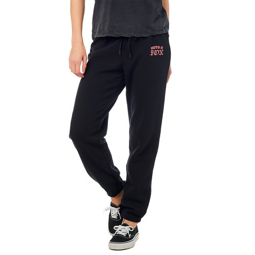 Fox Racing Moto X Sweatpant Womens Jogging Pants - Blk