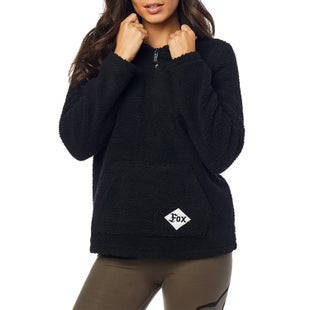 Fox Racing Road Raider Sherpa Pullover Hoody - Blk