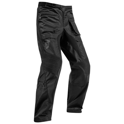Calzones de MX Thor Terrain Enduro and Trail Riding - Black
