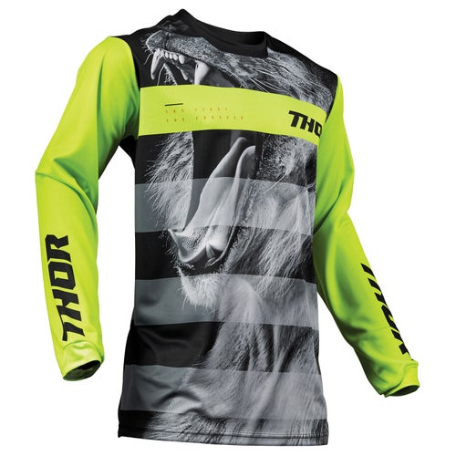 Jerseys MX Thor Pulse Big Kat - Black