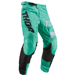 Thor Pulse Motocross Pants - Green