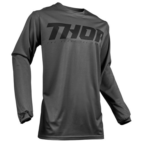 Thor Pulse Smoke Motocross Jerseys - Grey