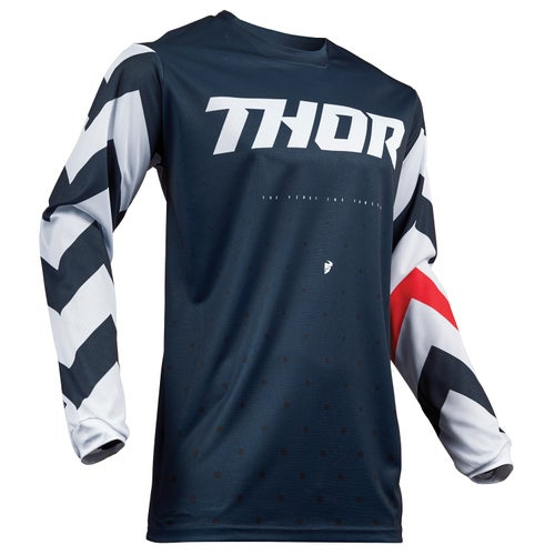 Thor Pulse Stunner Motocross Jerseys - Blue