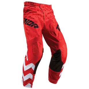 Thor Pulse Stunner Motocross Pants - Red