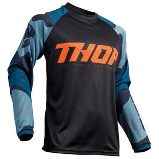 Thor Sector Motocross Jerseys - Blue