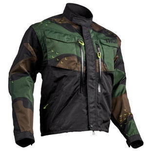 Thor Terrain Enduro Jacket - Green