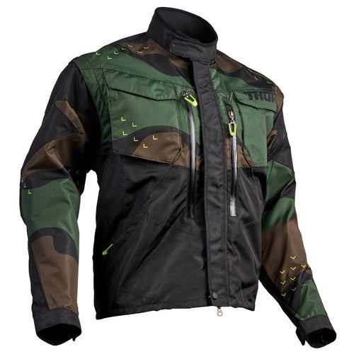 Enduro Jacket Thor Terrain - Green