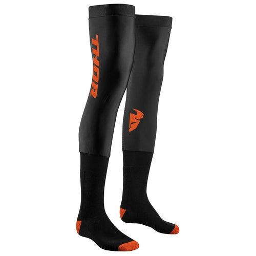 Knee Brace Socks Thor Compression S18 - Black Red