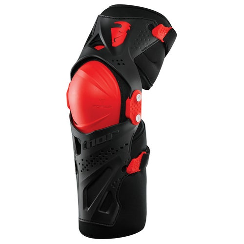 Protección para rodilla Thor Force Xp Knee Guards S17 Youth - Black Red