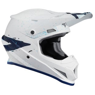 Casco para MX Thor S8s Sector Hype - White