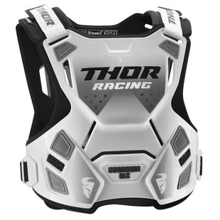 Thor Protect Guardian Mx Youth Chest Protection - White