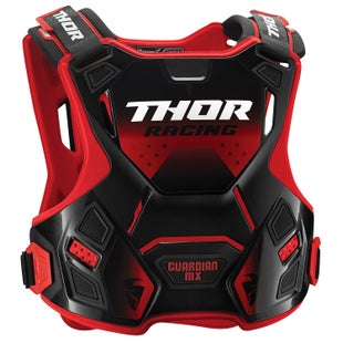 Thor Protect Guardian Mx Chest Protection - Red